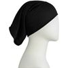 Picture of Black Cotton Jersey Two-Piece Amira - Medium  Size &  Longer Tube Cap