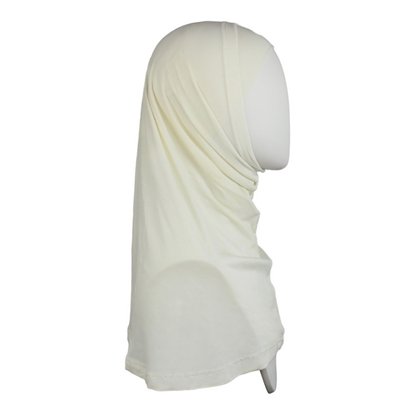 Picture of Off-White Cotton Two-Piece Amira - Medium  Size &  Longer Tube Cap
