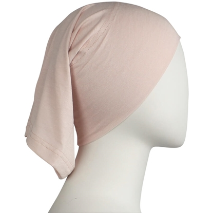 Picture of Pinkish Neutral Cotton Spandex Two-Piece Amira - Medium  Size &  Longer Tube Cap