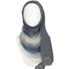 Picture of A Multi-Tasker Kuwaiti  Bluish Grey Hijab!
