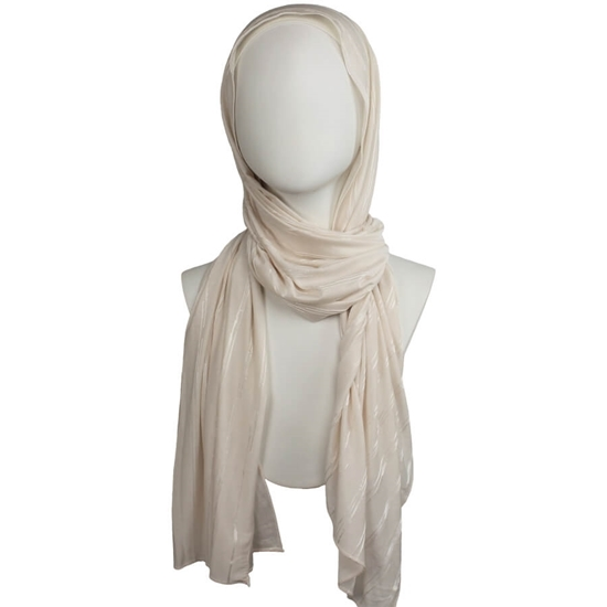 Picture of All in One Kuwaiti Hijab - Cream