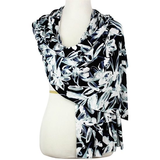 Picture of Your Go-To Patterned Jersey Hijab!