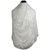 Picture of Chiffon Burnout Scattered Damask Cream Hijab