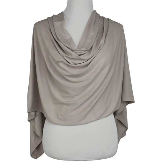 Picture of Beige - Simple Jersey Hijab