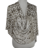 Picture of Earthy Tones Patterned Jersey Hijab