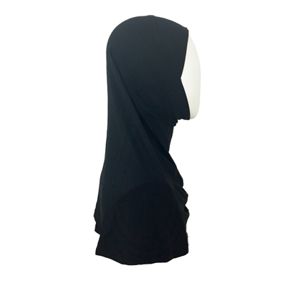 Picture of Black Amira One Piece Regular Size - Buttery Rayon Fabric - NEW